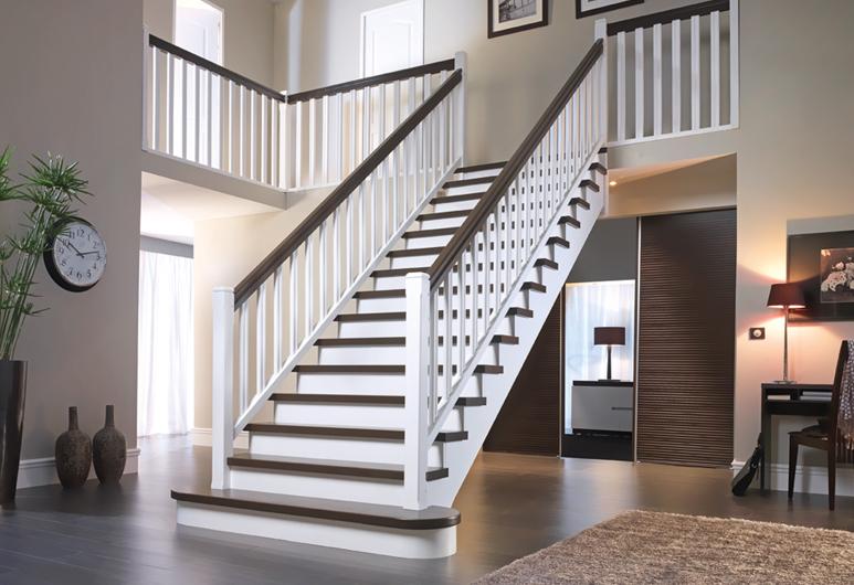 Escalier sur mesure ou standard flin hoffmanns for Peinture escalier v